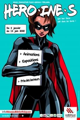 HERO (INE) S, que leur force soit dans les livres !