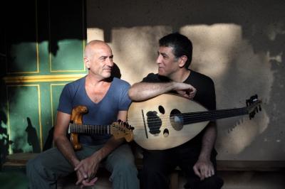 Interzone Serge Teyssot-Gay et Khaled Aljaramani