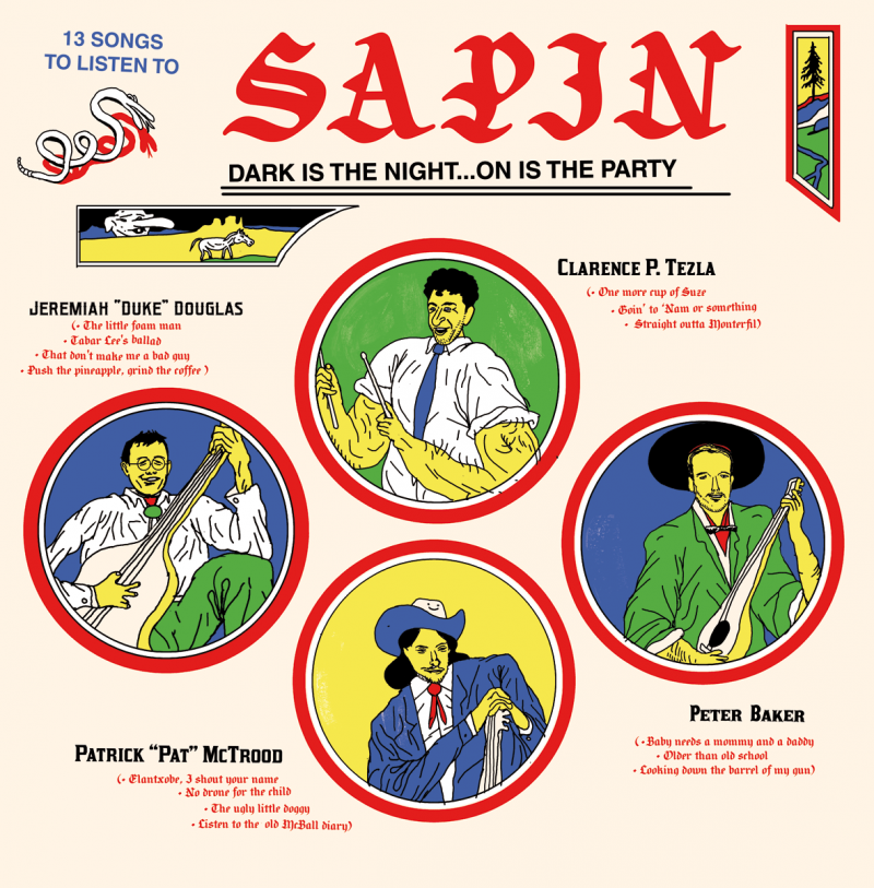 Sapin : Dark is the night… on is the party
